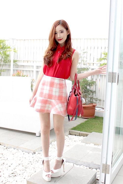 Hotgirl Indonesia mặc gì dạo phố? - 2