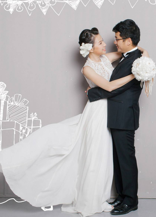Ảnh cưới tinh nghịch của Quỳnh Anh (Mắt Ngọc) - 14