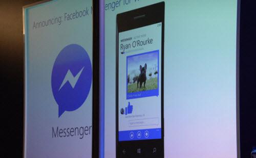"Ứng dụng Facebook Messenger sắp ""cập bến"" Windows Phone - 1"