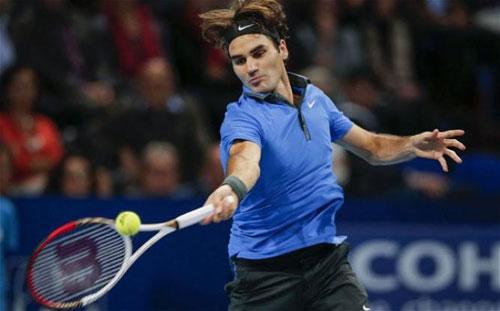 Federer - Becker: Trình diễn mãn nhãn (V1 Dubai) - 1