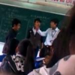 """Giáo dục - du học - Kiểm điểm HS quay clip """"trò đánh trả thầy"""": Còn ai dám dũng cảm?"""