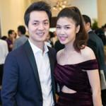 Ca nhạc - MTV - Vợ Đăng Khôi khoe eo thon dự tiệc cùng chồng