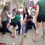 Tin tức trong ngày - Clip: Thiếu nữ bị đánh hội đồng giữa đường