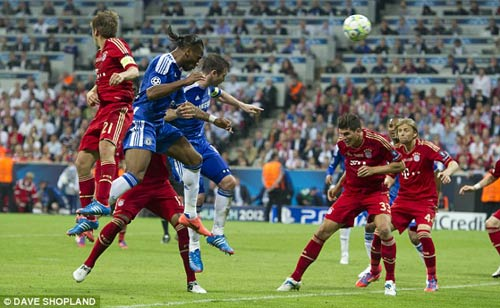 "Mourinho - Drogba: ""Cha con"" đối địch - 2"