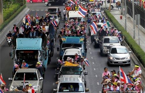 """Thái Lan: Quân đội """"đang ngả về phía chính phủ"""" - 4"""
