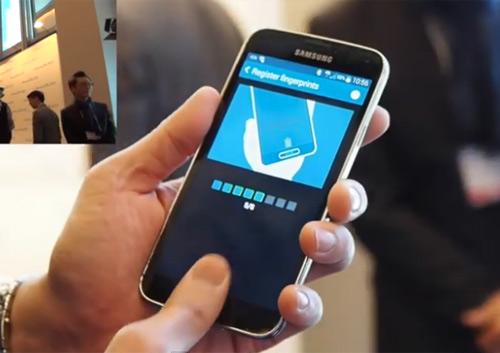 Video công nghệ quét vân tay trên Galaxy S5 - 1