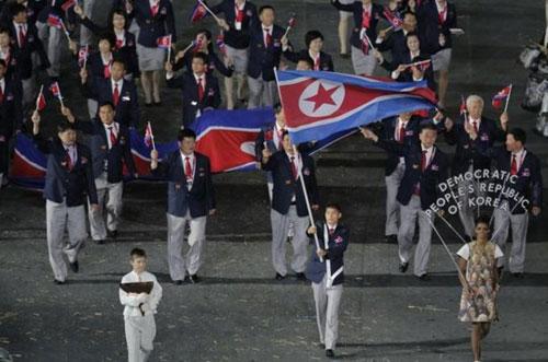 Triều Tiên sang Hàn Quốc dự Á vận hội 2014 - 1
