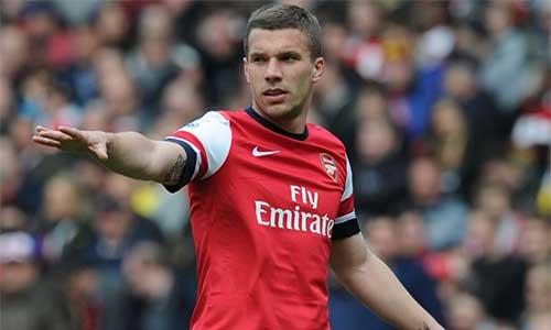 Podolski bóng gió muốn rời Arsenal - 1