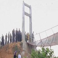Khắc phục hậu quả đứt cầu treo tại Lai Châu