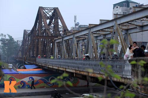 Đề xuất cầu Long Biên thành cầu quay sông Hàn - 1
