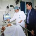 Tin tức trong ngày - Bộ trưởng Thăng đến hiện trường vụ lật cầu