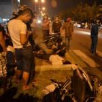 Tin tức trong ngày - Thai phụ khóc than bên xác chồng tử nạn