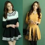 Thời trang - Váy đẹp cho nữ công sở ưa vẻ kín đáo