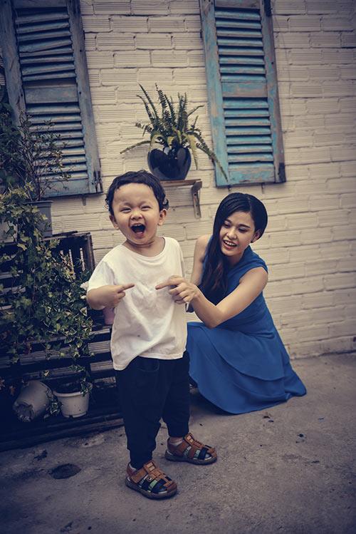 Con trai ngộ nghĩnh của Trương Quỳnh Anh - 8