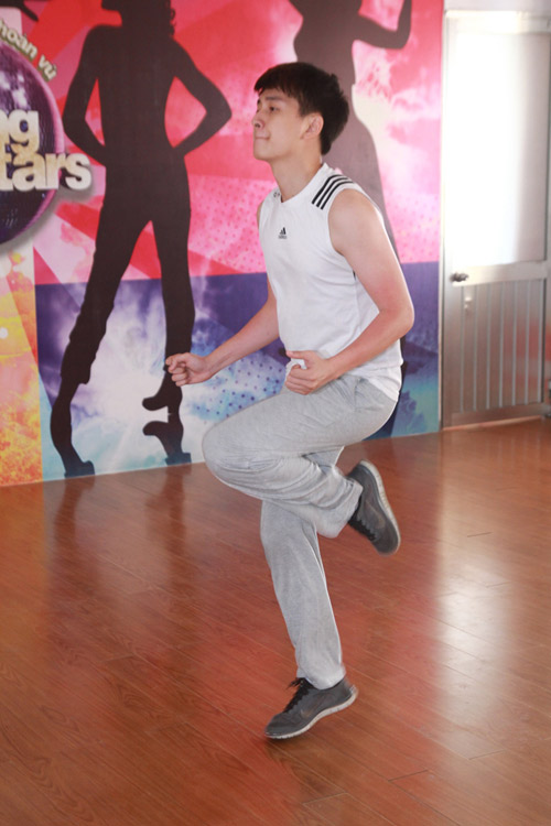 Ngô Kiến Huy trở lại Bước nhảy hoàn vũ - 1