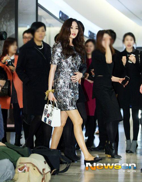 """Cặp giò đáng ghen tỵ của """"búp bê xứ Hàn"""" - 9"""