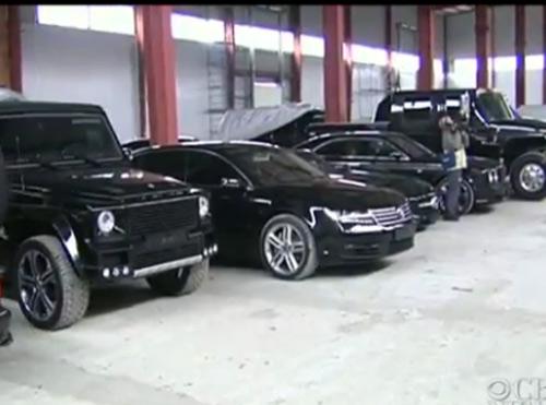 """""""Choáng"""": Tổng thống Ukraina sở hữu 70 chiếc xe """"độc"""" - 1"""