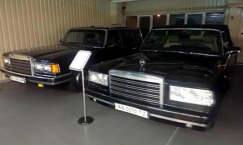 """""""Choáng"""": Tổng thống Ukraina sở hữu 70 chiếc xe """"độc"""" - 2"""