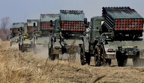 Nga diễn tập quân sự lớn sát biên giới Ukraine - 2