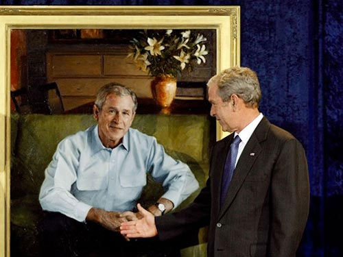 Cựu TT Mỹ Bush có thể thành... họa sĩ lớn - 1