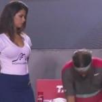 Thể thao - Nadal phớt lờ kiều nữ nhặt bóng ở Rio Open