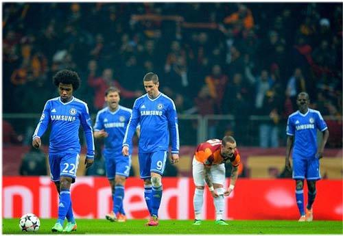 Galatasaray - Chelsea: Toan tính bất thành - 1