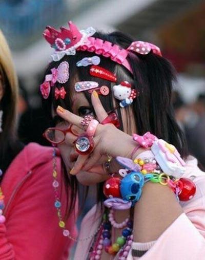 Thời trang kỳ dị của người Nhật Bản - 2