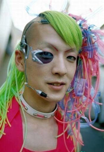 Thời trang kỳ dị của người Nhật Bản - 3