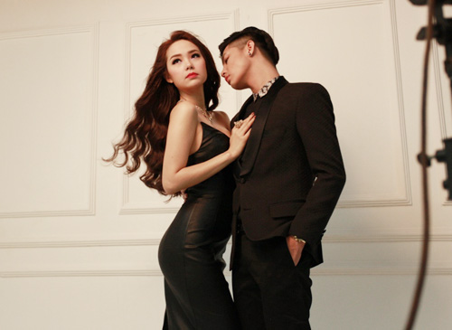 Minh Hằng kề môi Noo Phước Thịnh - 9