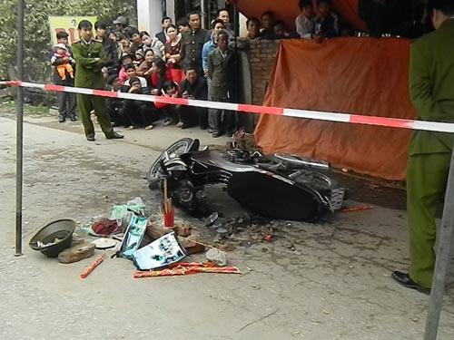 Ô tô tông xe máy, phó bí thư xã tử vong - 1