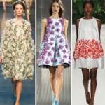 Thời trang - Họa tiết hoa đua nở giữa trời Xuân