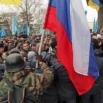 Tin tức trong ngày - Ukraine: Cờ Nga bay trên nóc nhà quốc hội Crimea