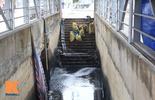 Hà Nội: Hầm đường bộ tiền tỉ thành cống ngầm - 2