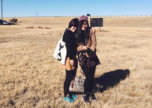 Ba nữ sinh Đà Nẵng khám phá Mỹ bằng xe hơi - 3