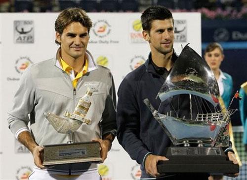 Djokovic - Federer, kẻ tám lạng người nửa cân (BK Dubai) - 1