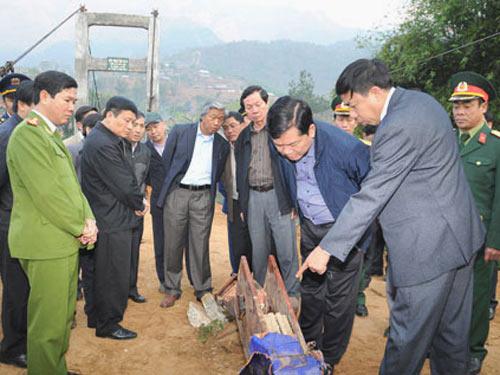 Bộ trưởng Thăng: Lật cầu ở Lai Châu do làm ẩu - 1