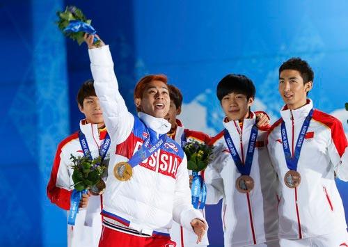 Nga thưởng đậm cho các VĐV giành huy chương Olympic Sochi 2014 - 1