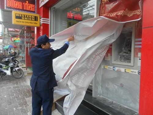 Nhiều cây ATM liên tục bị đốt ở Hải Phòng - 1