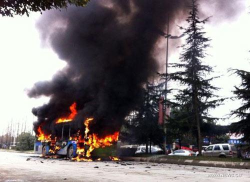 TQ: Phóng hỏa đốt xe bus khiến 6 người chết thảm - 3