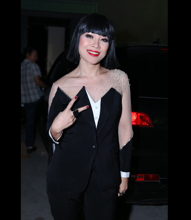 Mỹ Tâm gặp không ít rắc rối vì vụ 'váy giống váy' trên ghế giám khảo Vietnam Idol tuần vừa qua. Bộ vest mà Mỹ Tâm mặc được cho là có ảnh hưởng nặng nề một thiết kế Xuân Hè 2007 của thương hiệuViktor & Rolf