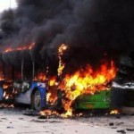 Tin tức trong ngày - TQ: Phóng hỏa đốt xe bus khiến 6 người chết thảm