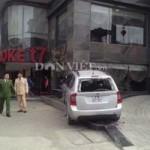 An ninh Xã hội - Chém dã man 3 người, lái ôtô tông chết bảo vệ