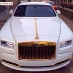 Ô tô - Xe máy - Rolls-Royce Wraith mạ vàng độc đáo