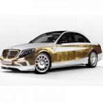 Ô tô - Xe máy - Mercedes-Benz S-Class dát 1.000 tấm vàng lá