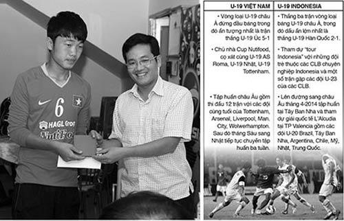 U-19 Việt Nam và Indonesia cùng đua đến World Cup - 1