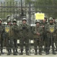 Lính Ukraine ở Crimea ủng hộ chính phủ thân Nga