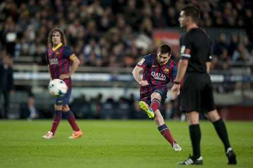 Messi lập thêm một kỷ lục vĩ đại - 1