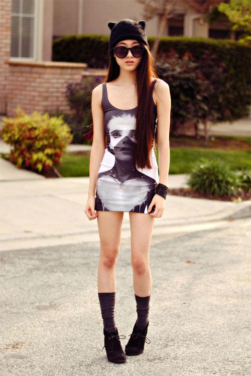 Gu thời trang của cô nàng yêu nghệ thuật - 8