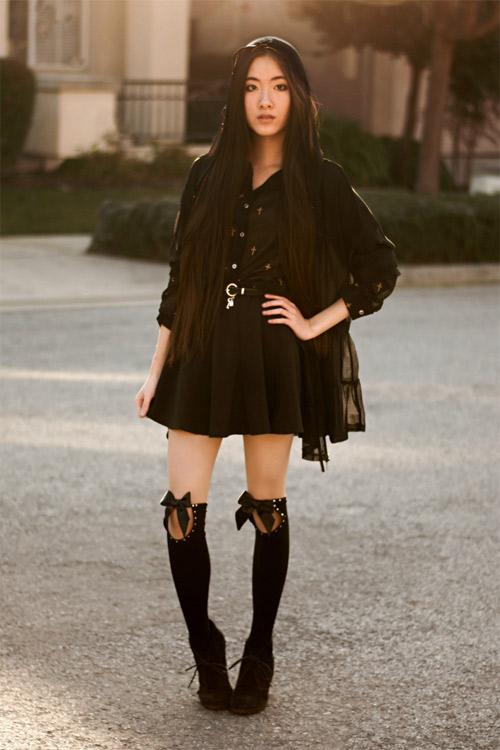 Gu thời trang của cô nàng yêu nghệ thuật - 16