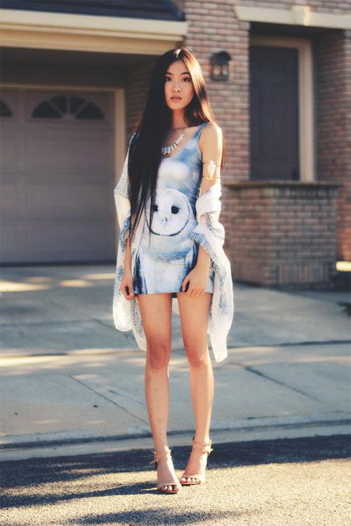 Gu thời trang của cô nàng yêu nghệ thuật - 9